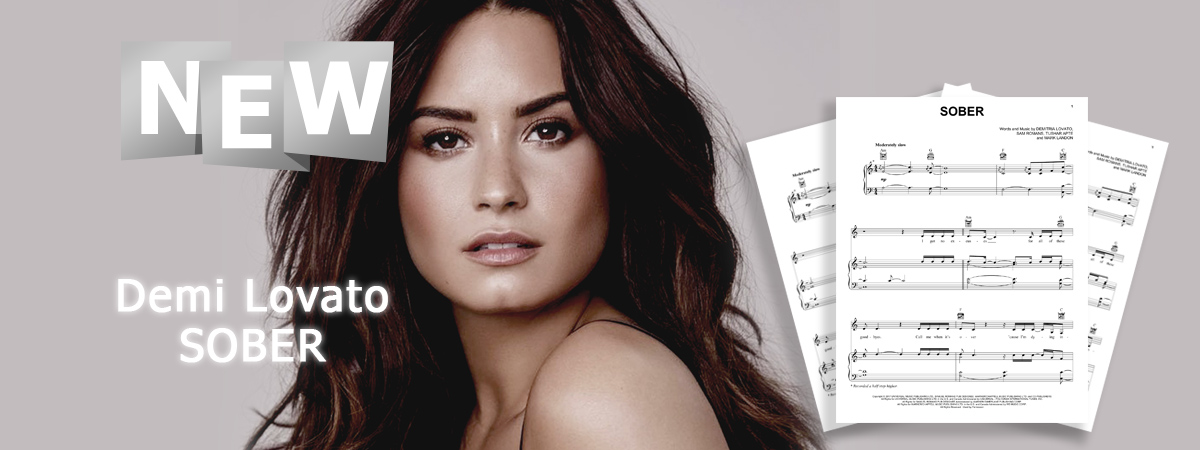 Demi Lovato, Sober, Sheet Music, Chords, Notes, Piano