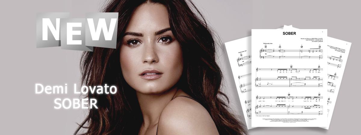 Demi Lovato, Sober, Sheet Music, Chords, Notes, Piano