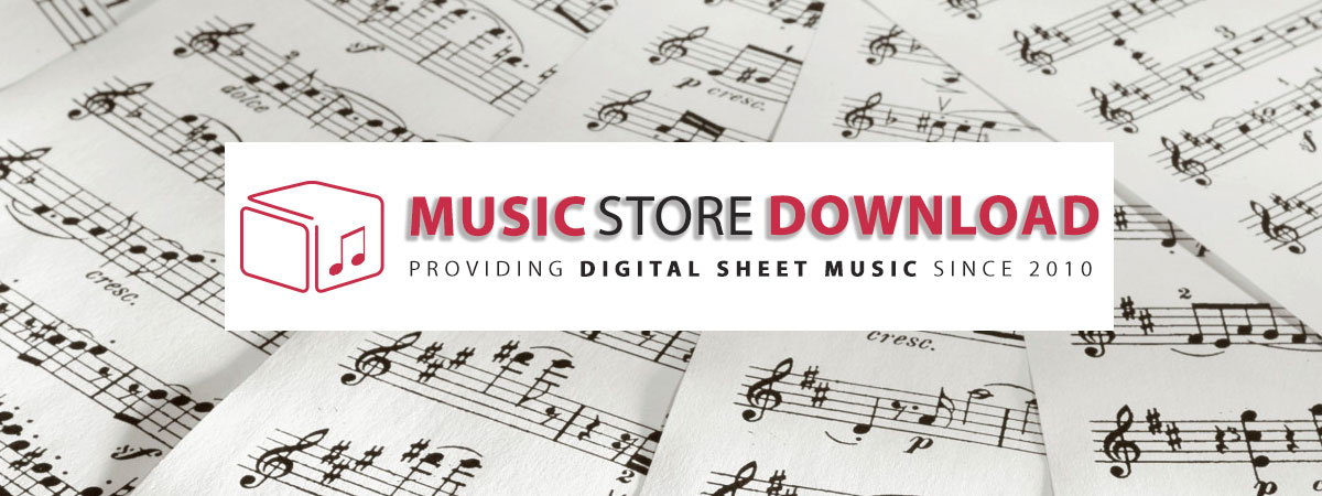 Digital Printable Sheet Music Notes